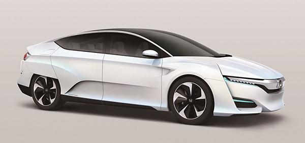 Honda FCV Concept Debuts – 2016 Production Target